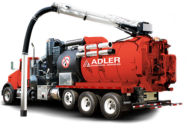 Adler Hydrovac Excavation Truck